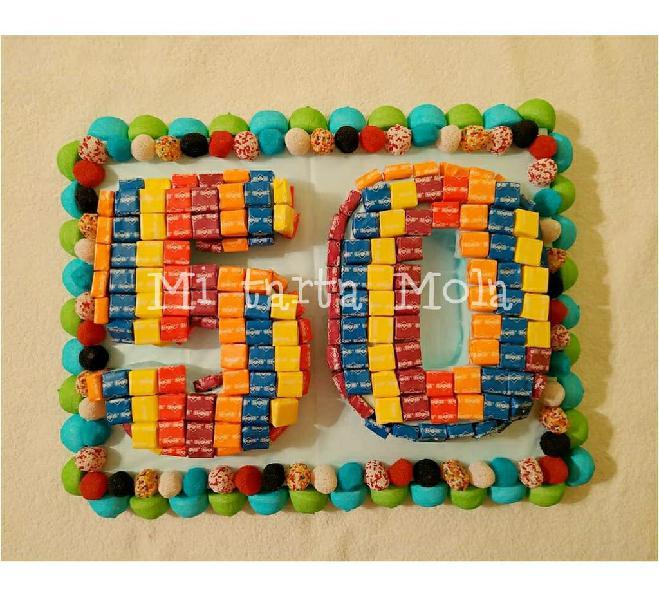 Tartas molonas cumpleaños