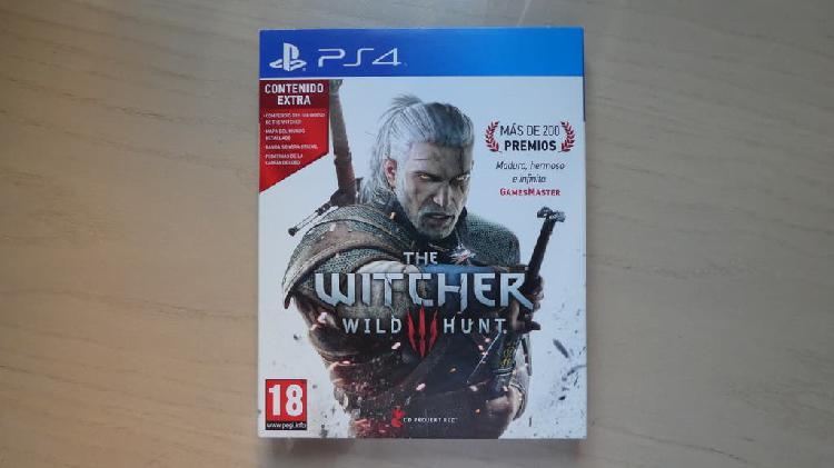 The witcher: wild hunt (con contenido extra)