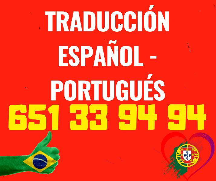 Traductor portugués español