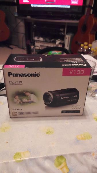 Video cámara panasonic hc-v130