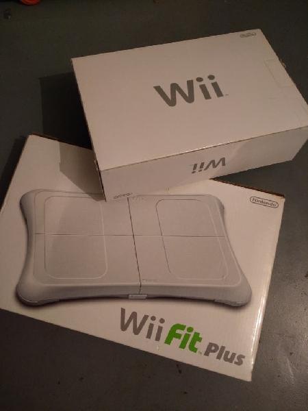 Wii y tabla wiifit