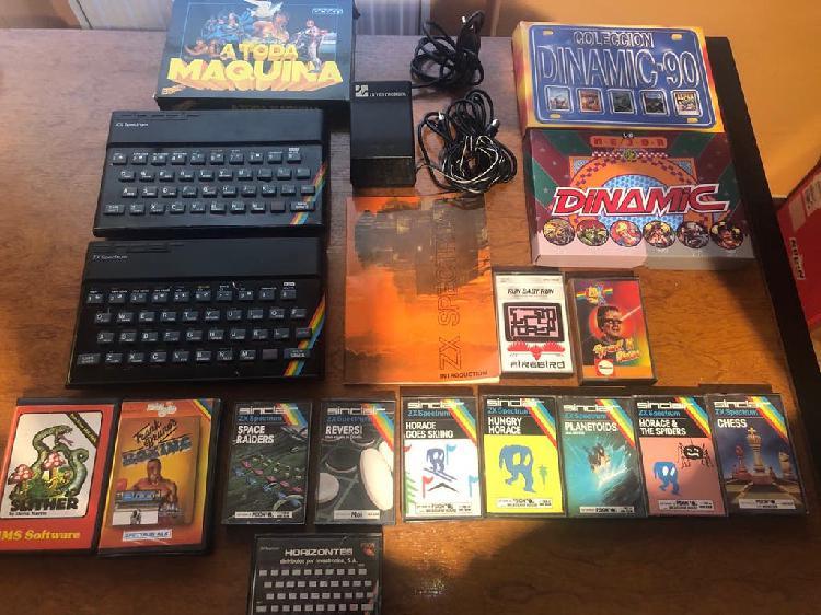 Zx spectrum 48k y juegos originales