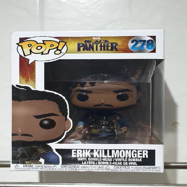 Nuevo precintado funko pop erik killmonger 278