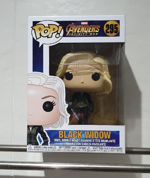 Nuevo precintado funko pop black widow 295