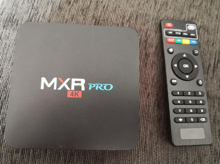 Tv box android 4k 4 gb de ram