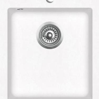141674 fregadero sobrepuesto de granito blanc...