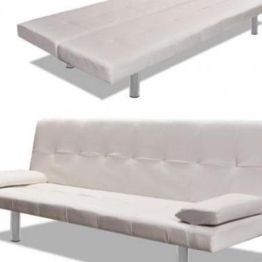 241723 sofá cama con dos almohadas ajustable...