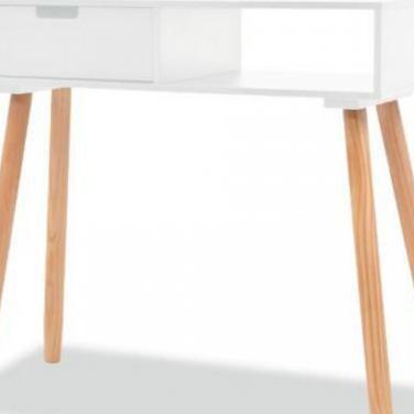 244737 mesa consola de madera maciza de pino ...