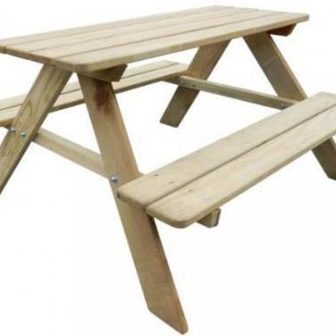 274307 mesa de picnic para niños madera de pin...