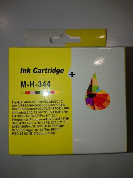 Cartucho tinta compatible hp 344