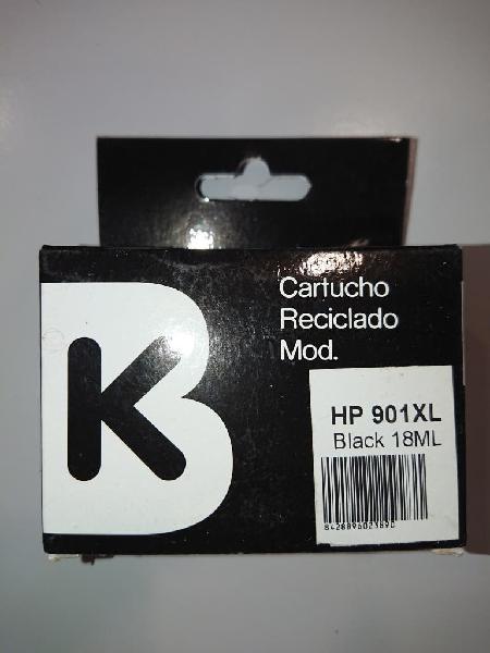 Cartucho tinta compatible hp 901xl