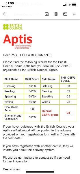 Clases de inglés particulares primaría/e.s.o.
