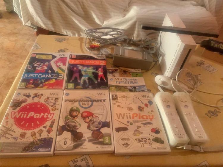 Consola wii y juegos originales