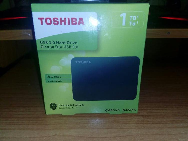 Disco duro ext toshiba 1tb usb 3.0