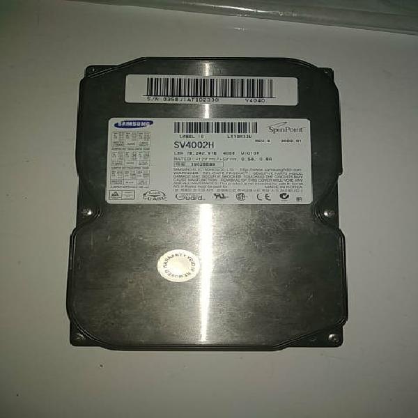 Disco duro samsung sv4002h