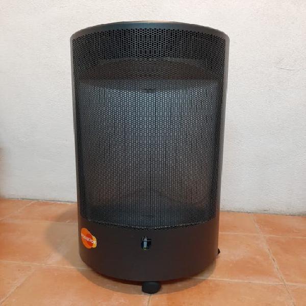 Estufa de llama azul butano / propano