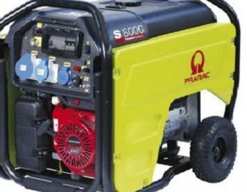 Generador pramac s8000 gasolina