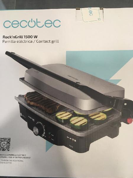 Grill rock'n grill 1500w patilla eléctrica