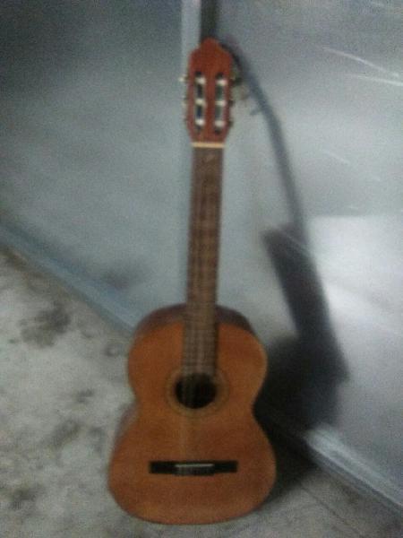 Guitarra clásica española.