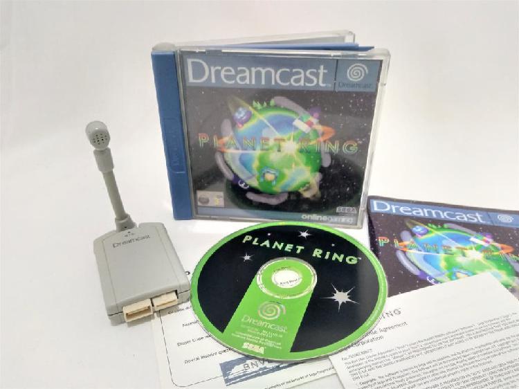 Juego planet ring + micrófono sega dreamcast