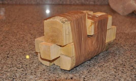 Juego de madera de boj / buxo para gaita
