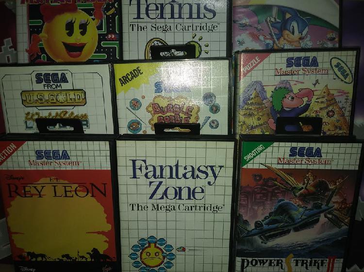 Juegos master system ii