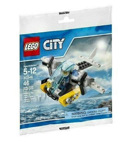 Lego helicóptero policía