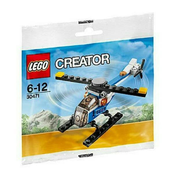 Lego original nuevo creator polucia helicóptero