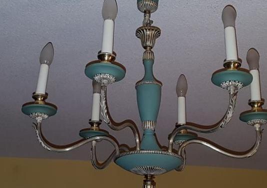 Lámpara de techo y 2 apliques a juego