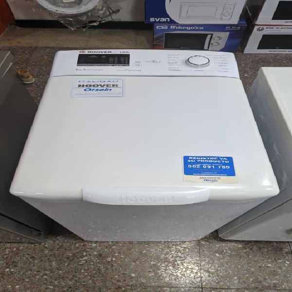 Lavadora hoover carga superior 8kg