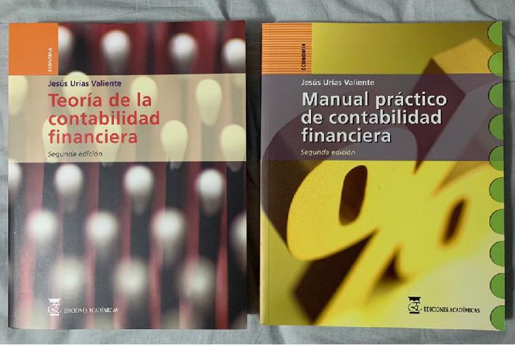 Libros contabilidad financiera: teoría y práctica