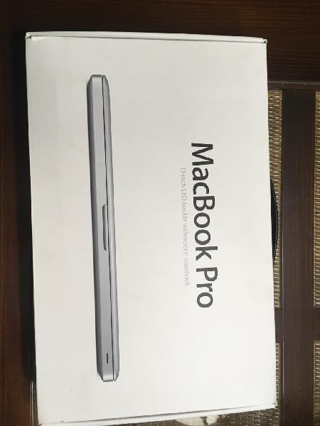 Macbook pro i5 a 2,5ghz mid 2012 ssd 240gb