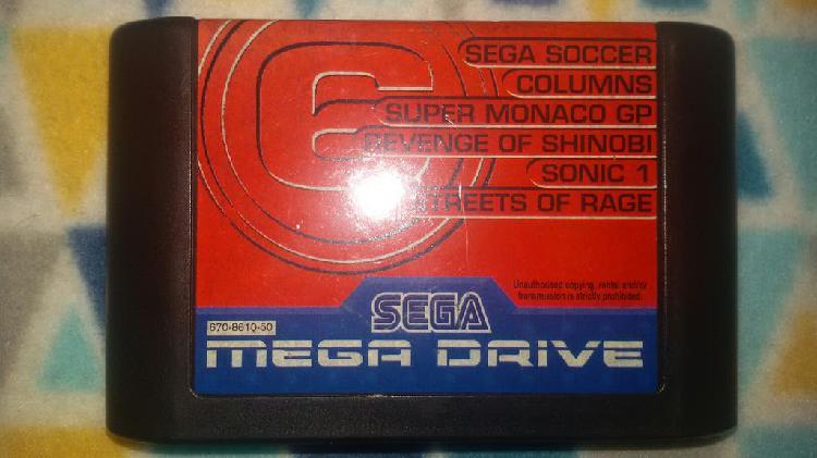 Mega games 6 / megagames 6 / m6 megadrive pal
