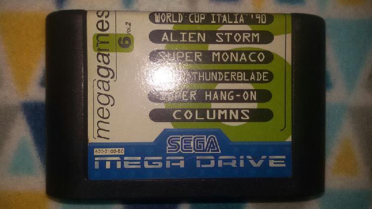 Mega games 6 / megagames 6 vol. 2 megadrive pal