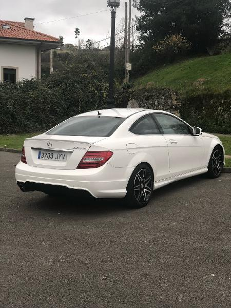 Mercedes-benz c coupe impecable 2012