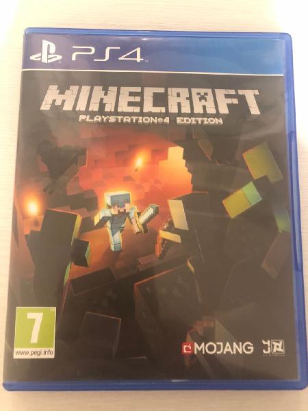 Minecraft ps4 en perfecto estado