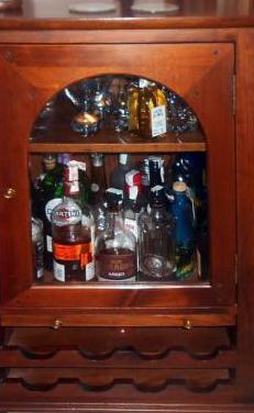 Mueble bar rustico
