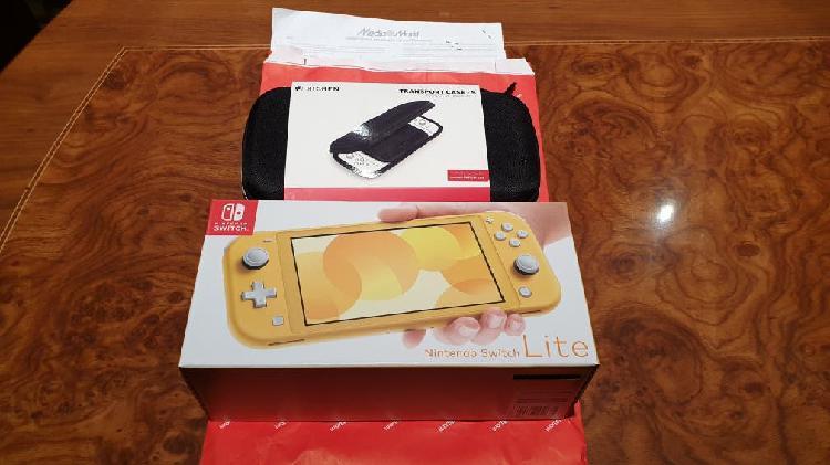Nintendo switch lite a estrenar con factura