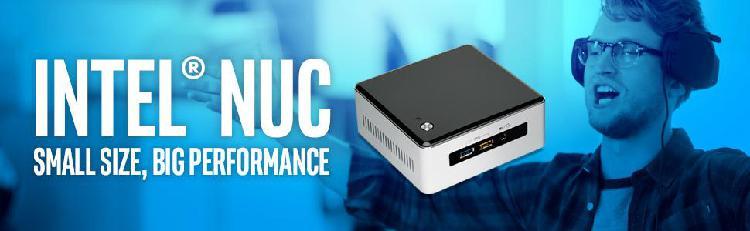 Ordenador NUC INTEL 5i7RYH con 8GB y 2 HDD