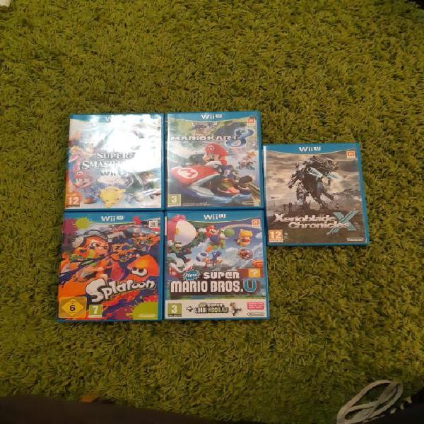 Pack videojuegos wii u