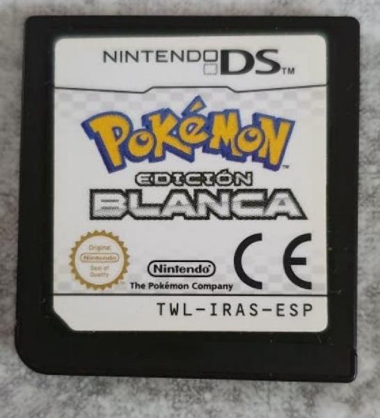 Pokémon edición blanca ds en algeciras