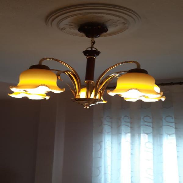 Rebaja lampara de techo con bombillas de led