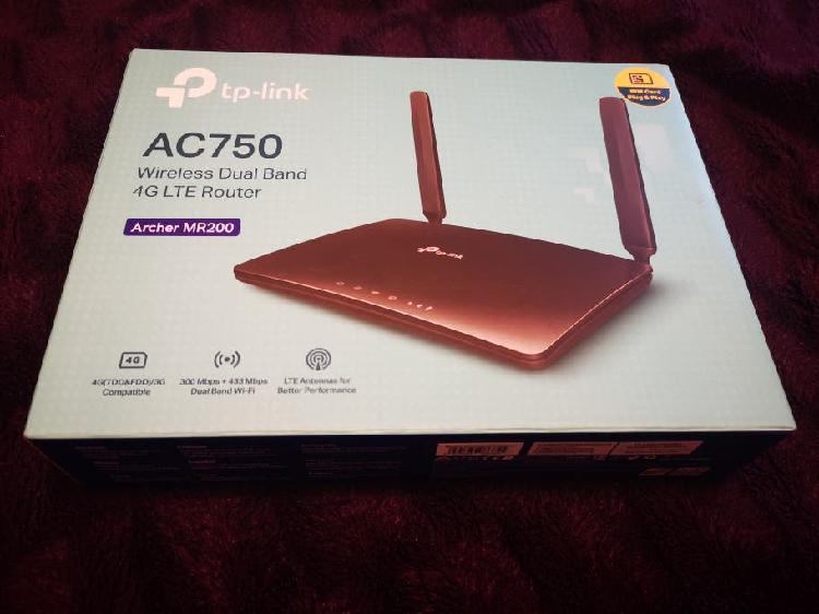 Router tp - link 4g ac750