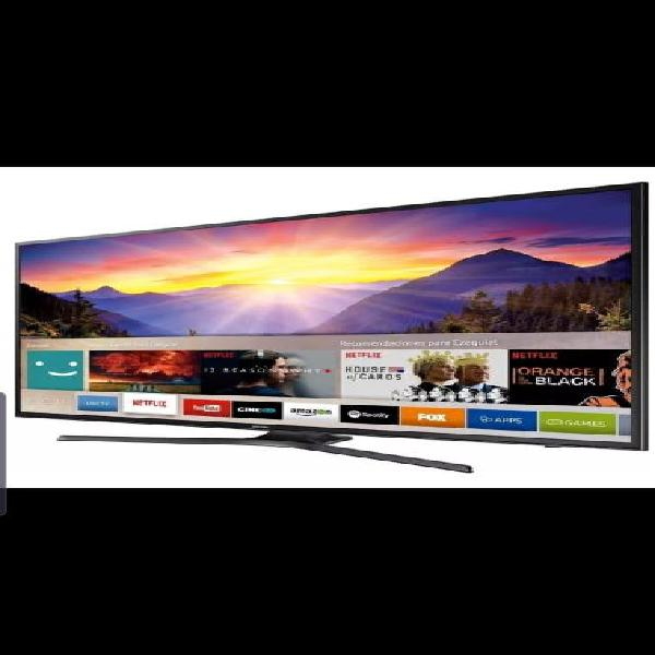 "Smart tv wifi samsung led 4k uhd 55"" seminueva"