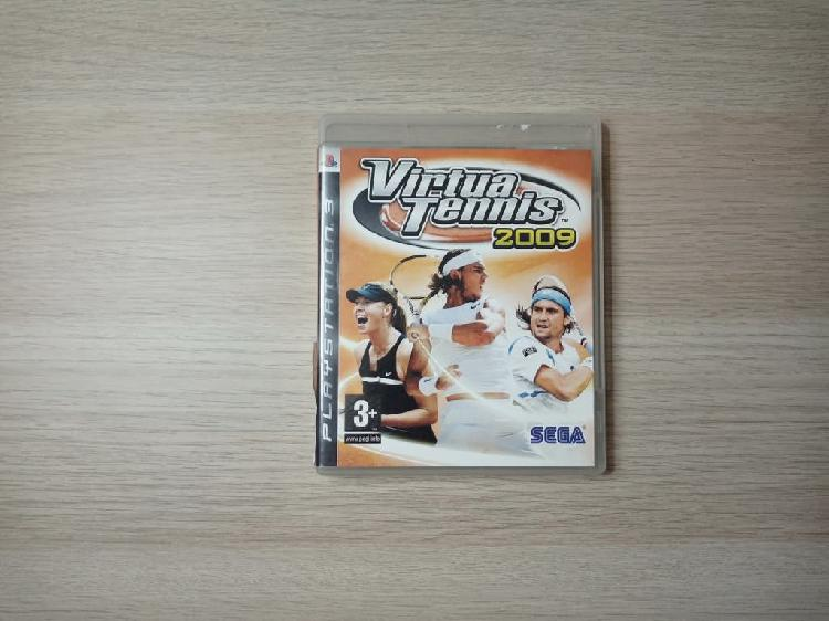 Virtua tennis 2009 para ps3.