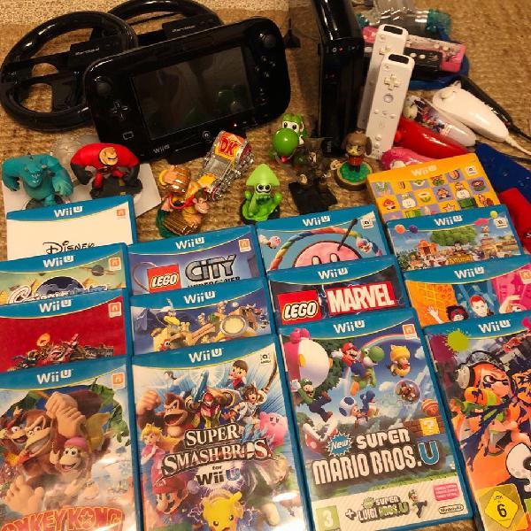 Wii u + 20 juegos