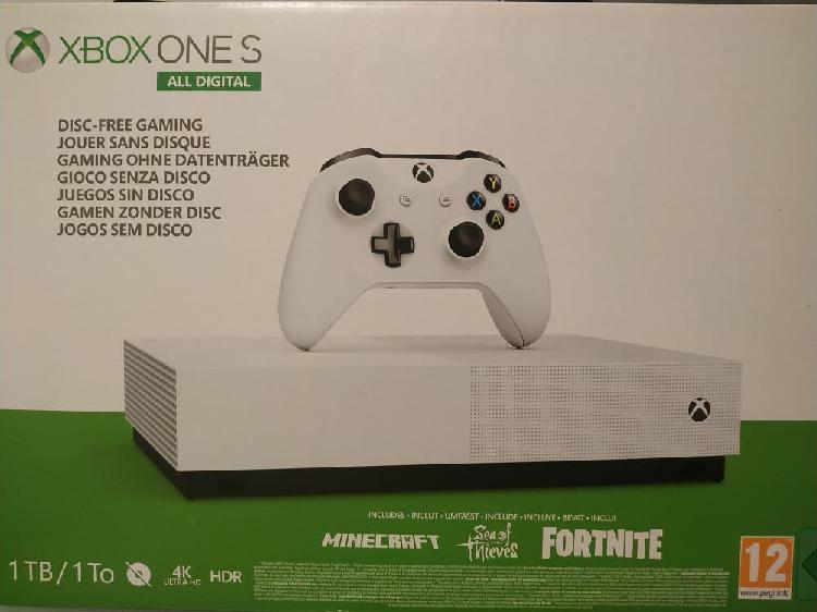 Xbox one all digital 1tb nueva (precintada)