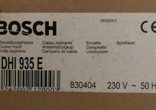 Campana extractora bosch nueva