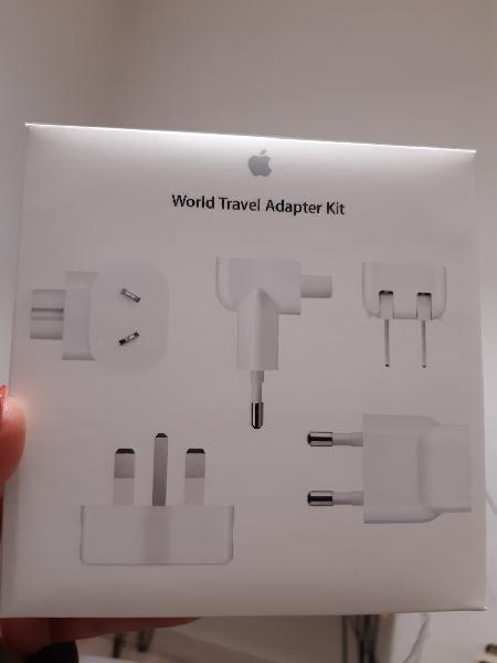 Kit adaptador viaje apple nuevo