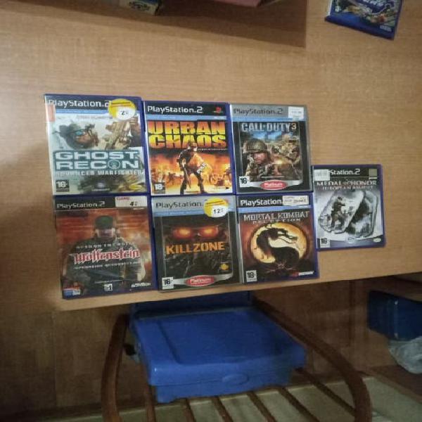 Lote o suelto. juegos playstation 2 buen estado.